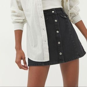 Urban Outfitters BDG Button Denim Skirt
